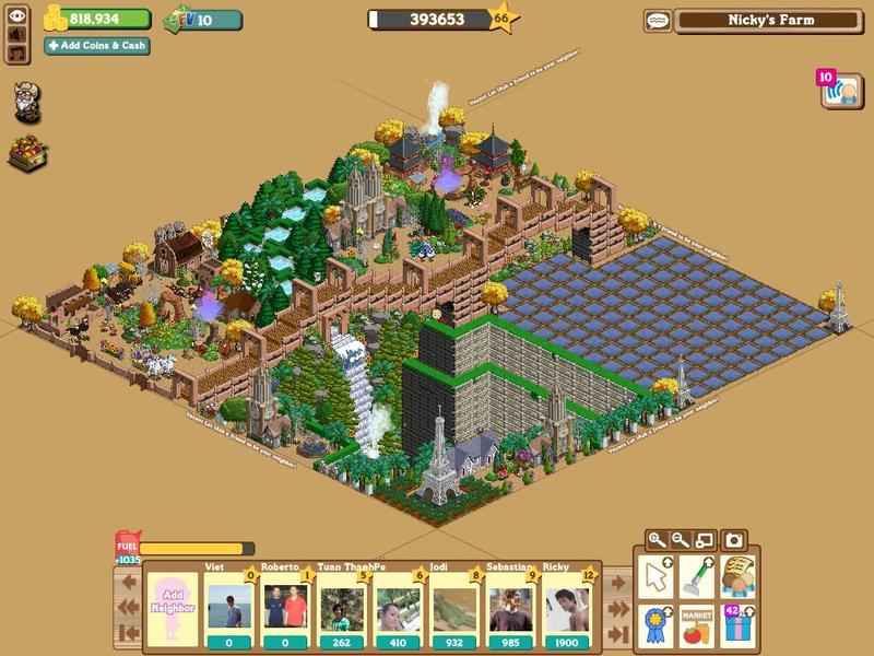 farmville featured farm of the day nicky tran