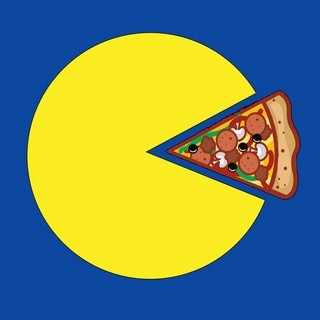 Pac-Man Pizza