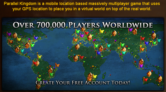 Parallel Kingdom 700,000K players