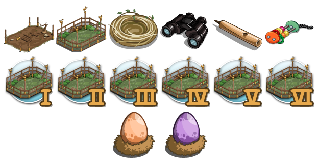 FarmVille Aviary items