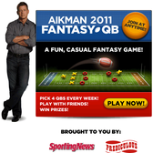 Troy Aikman + Facebook = A fantasy football game all about the QBs