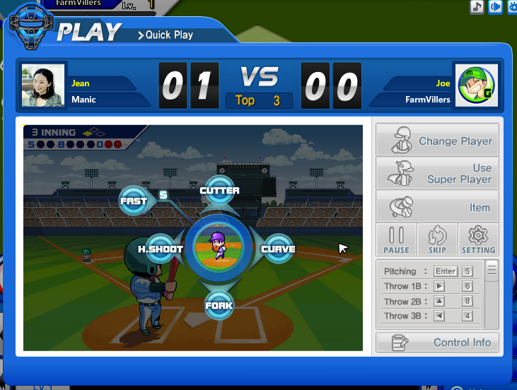 Baseball Superstars gameplay