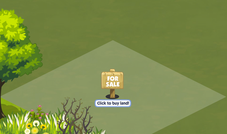 The Sims Social For Sale Sign