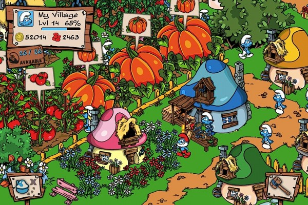 The Smurfs Village