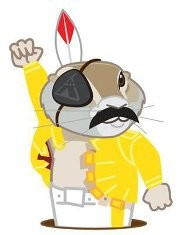 Freddie Mercury Gerry the Gopher