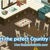 The Sims Social: Country meets chic with Country Kitchen items