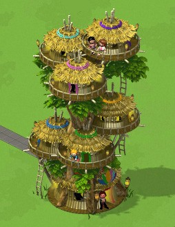 CityVille Tonga Tower complete