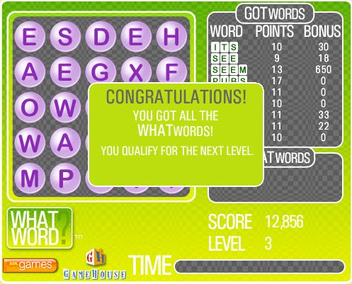 whatword what word game of the day