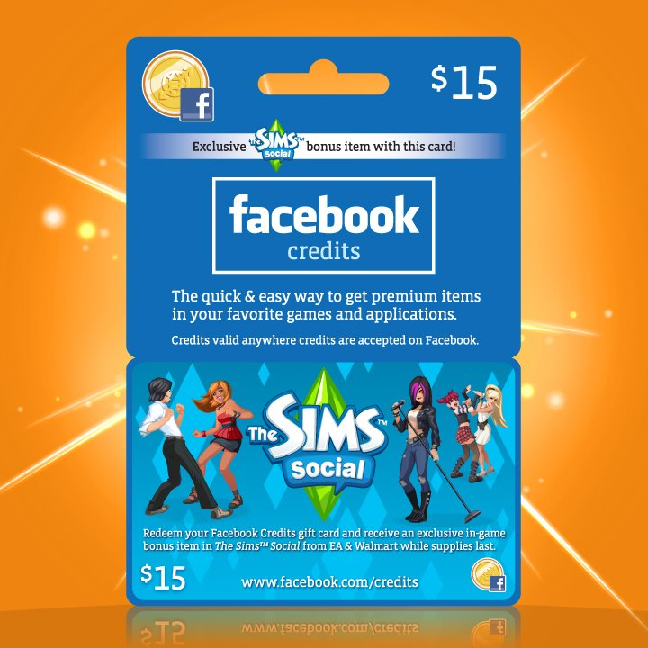 The Sims Social Facebook Credits