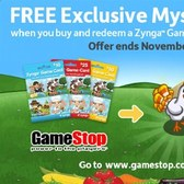 FarmVille Gamestop promotion offers rewards with Game Card purchase