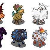 FarmVille Sneak Peek: Halloween animals like to play dress up
