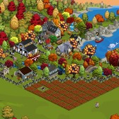 FarmVille Pic of the Day: A fire burns in ForeverFarmer's lighthouse cove