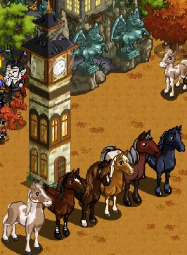 Farmville Mystery Game 10 02 11 Horse Theme Leads To A
