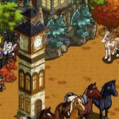 FarmVille Mystery Game (10/02/11): Horse theme leads to a free Halloween Tower