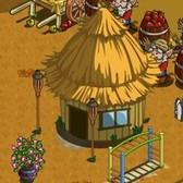 FarmVille: Hut, Monkey Bars and Bougainvillea Pot available for Farm