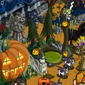 FarmVille Halloween Items: Black Mini Unicorn, Haunted Farm House and more