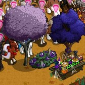 FarmVille Halloween Items: Dark Peach Tree, Black Guinea Pig and more