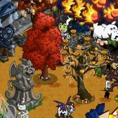 FarmVille Halloween Items: Witch Costume, Halloween Candle Tree and more