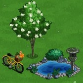 FarmVille: Lilac Tree, Bike with Basket and Garden Pond back for Farmer Appreciation Week