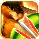 Fruit Ninja: Puss in Boots lets the fur fly on iPhone, iPad this month