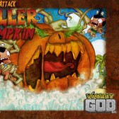 The Killer Pumpkin assaults Pocket God on Facebook this Halloween