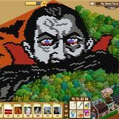 FarmVille Pic of the Day: Dracula looms large at Liveloula46's farm