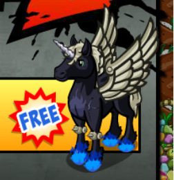 FarmVille Mafia Wars 2 Winged Unicorn