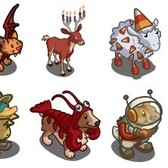 FarmVille Mystery Game (10/16/11): More Halloween animals play dress-up