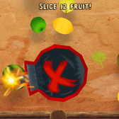 Fruit Ninja: Puss in Boots on iOS: A bomb-filled blast of a branded game