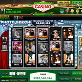 DoubleDown Casino's Photo Booth Friends: Play slots with <strike>faces</str