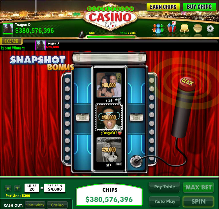 double hit casino codes