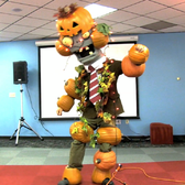 PopCap says 'Happy Halloween' with pumpkins, zombies and ... a rave?
