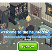 The Sims Social Haunted House Week items punish friends' pranks