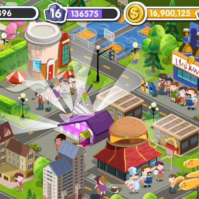 MyTown 2 screen shot