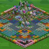 FarmVille Pic of the Day: Snuggle in flower patches at tUlIptrEE_06's farm