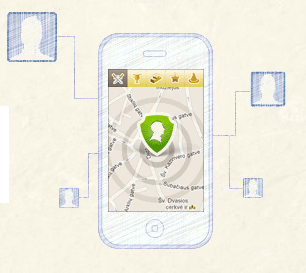 mobile location-based app