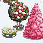 FarmVille Winter Holiday Items: Stocking Tree, Snowflake Cow and more