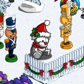 FarmVille Winter Holiday Items: Santa Hat Tree, Tinsel Reindeer and more