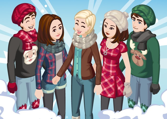 The Sims Social Winter Outfits