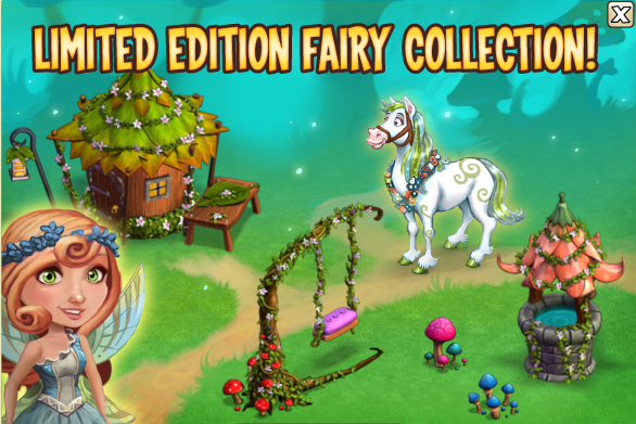 CastleVille Fairy Collection