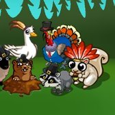 Pioneer Trail Thanksgiving Animal Collection: Collect feathers for s