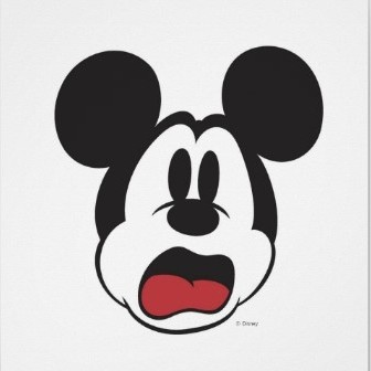 Mickey Mouse Scared
