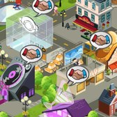 MyTown 2 finally goes social: Visit friends' cities and purchase their businesses