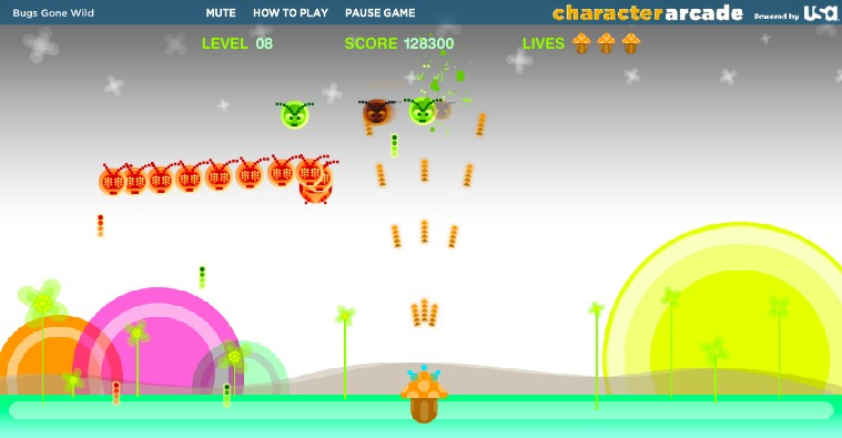 bugs gone wild game of the day