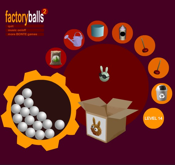 factory balls 2 game of the day