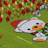 FarmVille Pic of the Day: Build a bear for X'mas at Cecilia83's farm