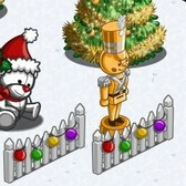 FarmVille Winter Holiday Items: Ornament Horse, Candy Cane Rabbit and more