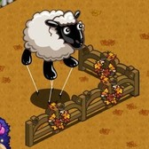 FarmVille Thanksgiving Items: Sheep Balloon, Pilgrim Chi