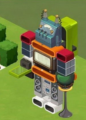 The Sims Social DIY Robot