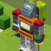 These DIY robots in The Sims Social show the fun power of stacking